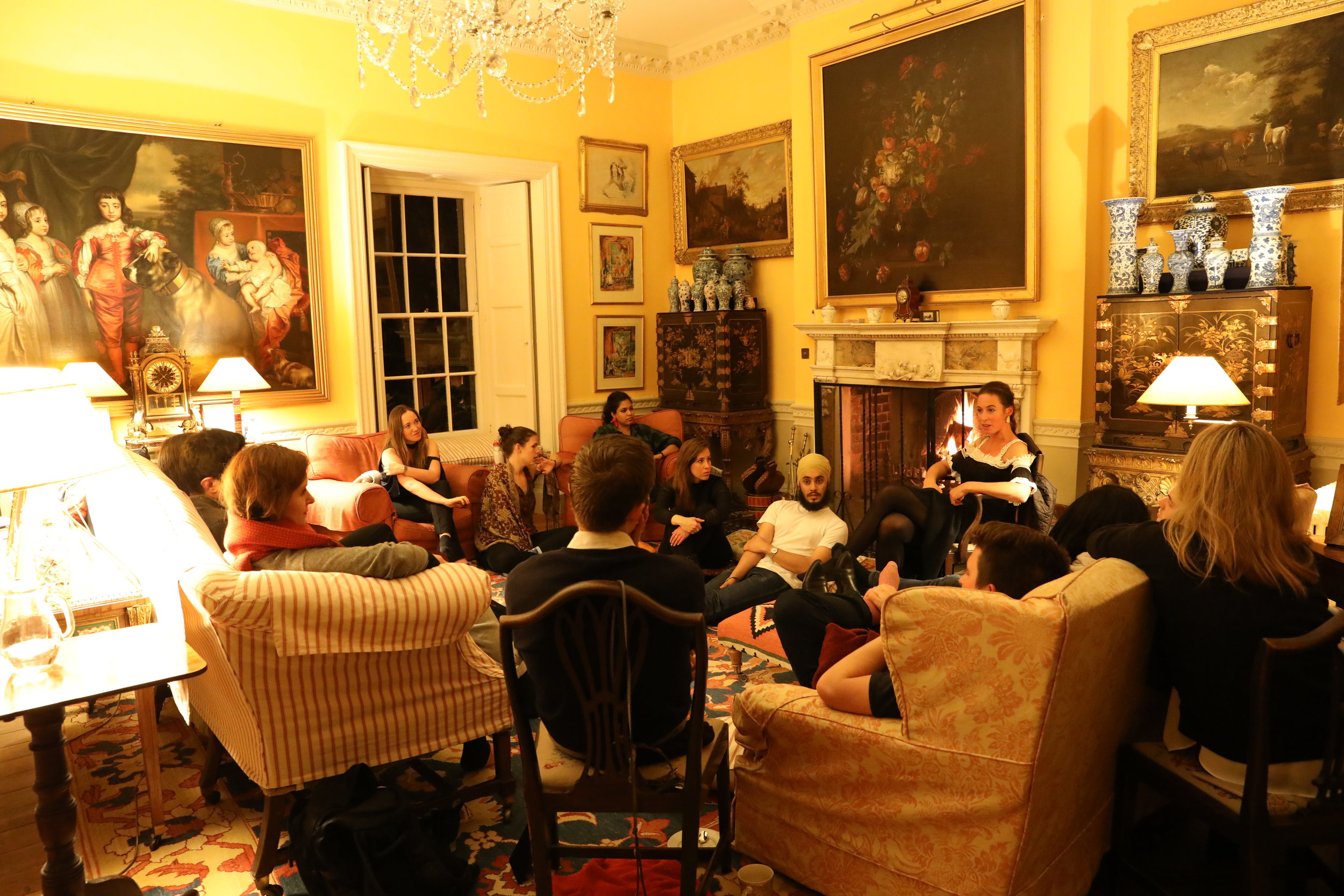 Salon Explorations at Smedmore House on the Jurassic Coast- a weekend of nature, culture, and conversations