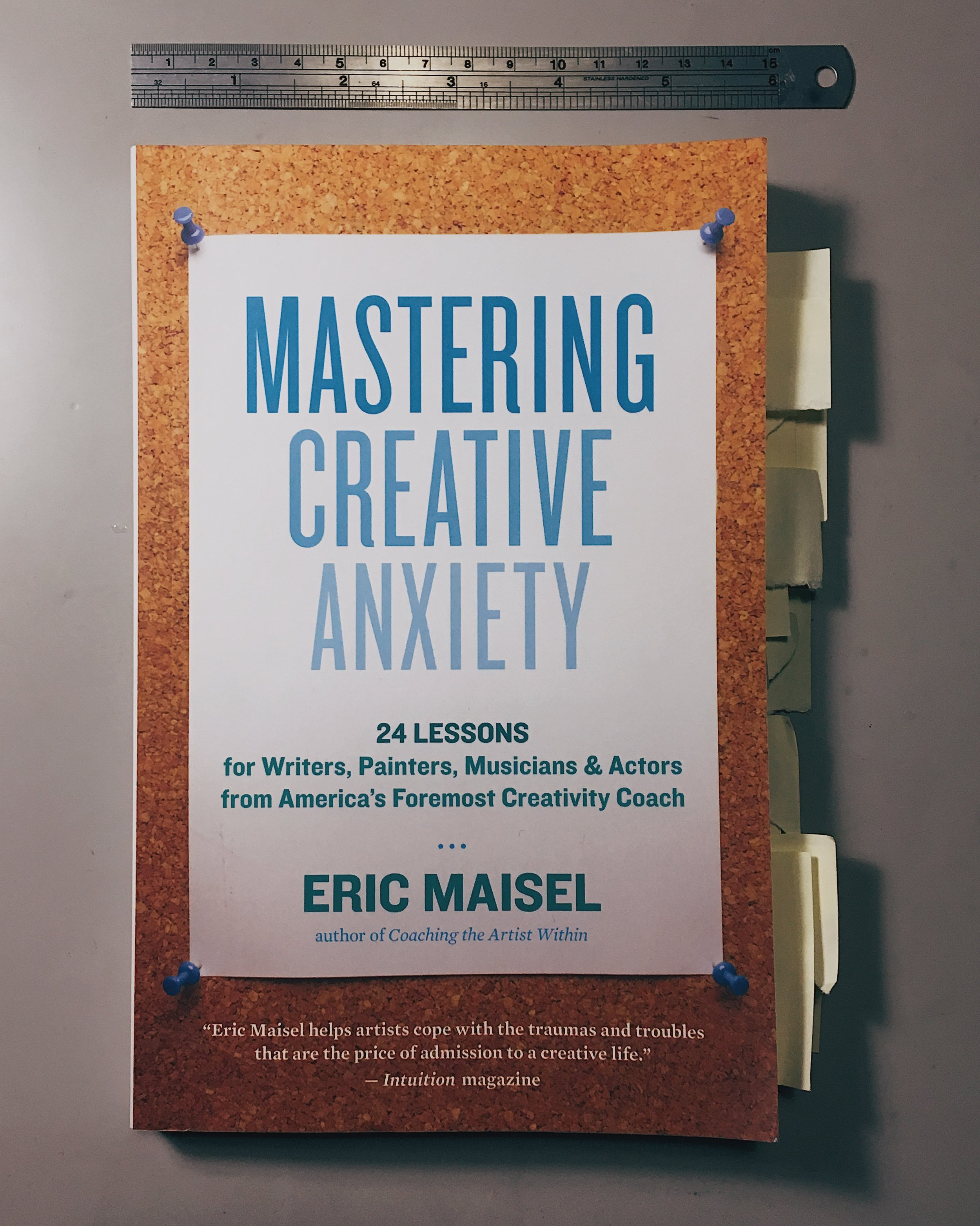 Get your own copy of    Mastering Creative Anxiety  .