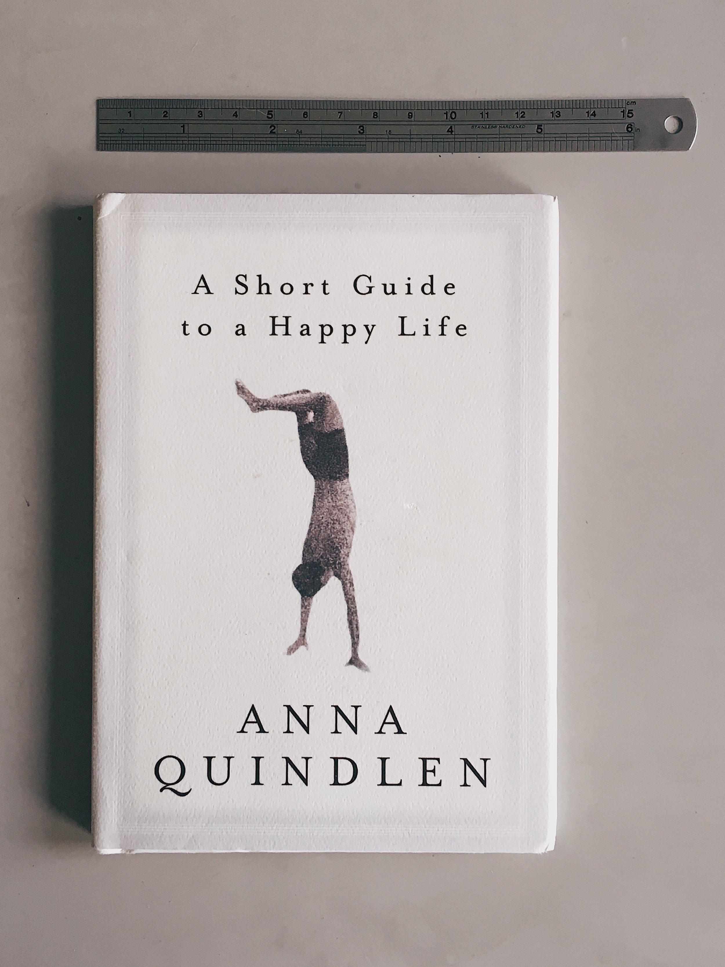 Get your own copy of    A Short Guide to a Happy Life   .