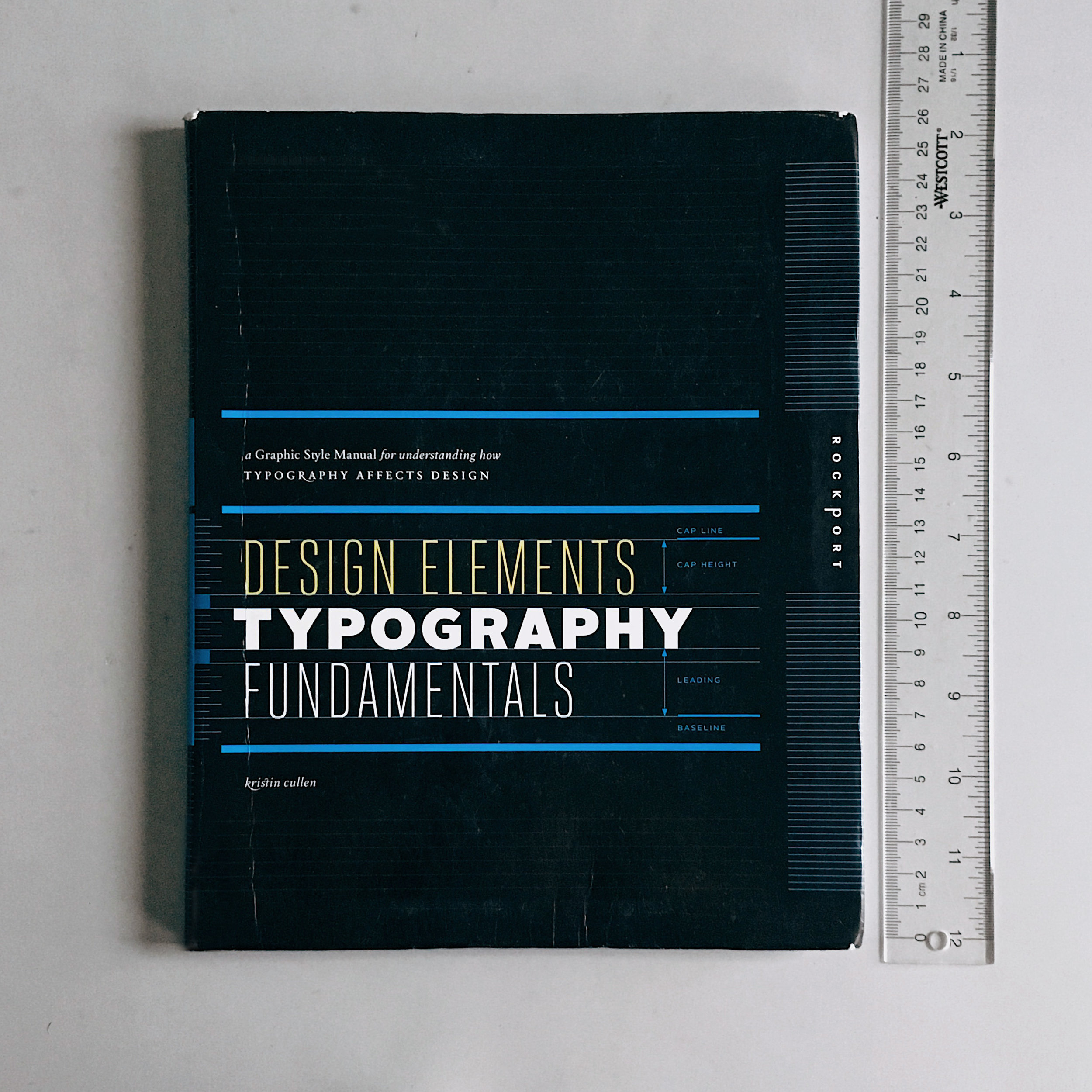 Get your own copy of    Design Elements: Typography Fundamentals  .