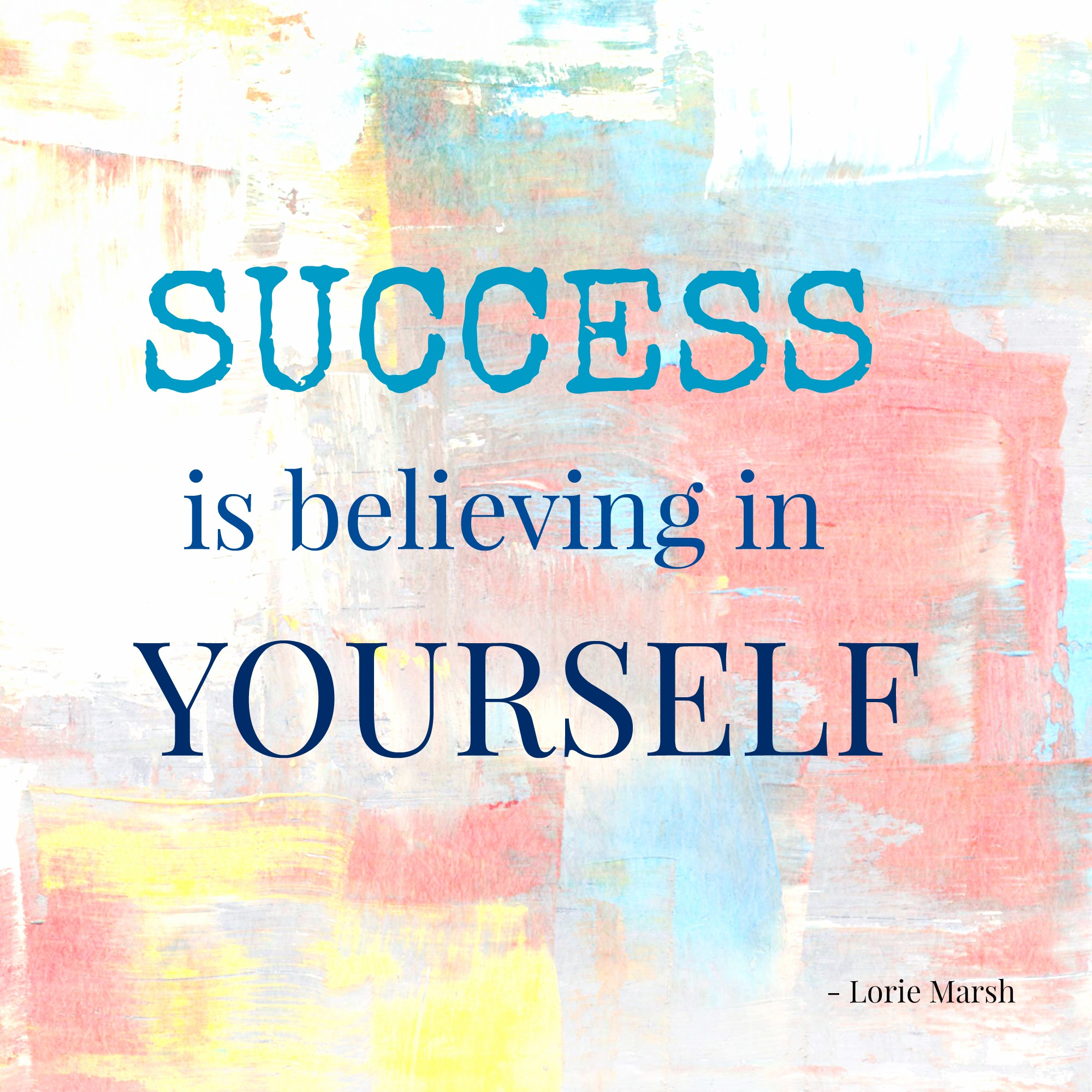 Success-is-belief-in-self-quote