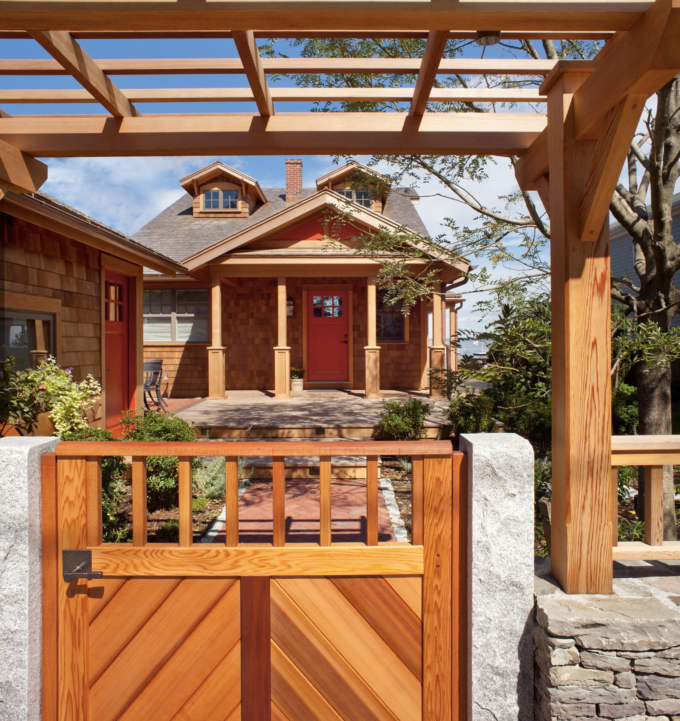 Entry Pergola Gate