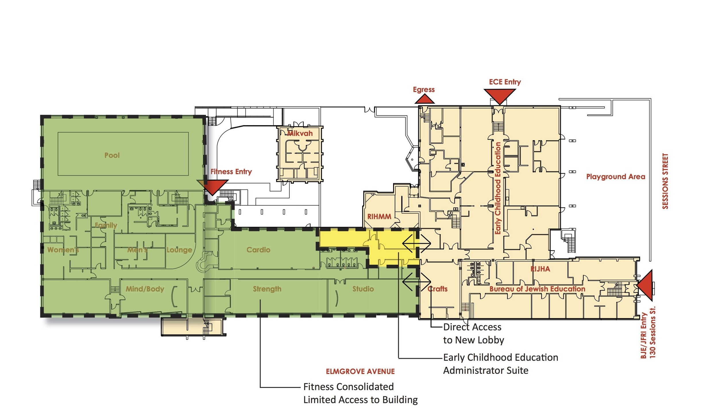 Lower Level Proposed