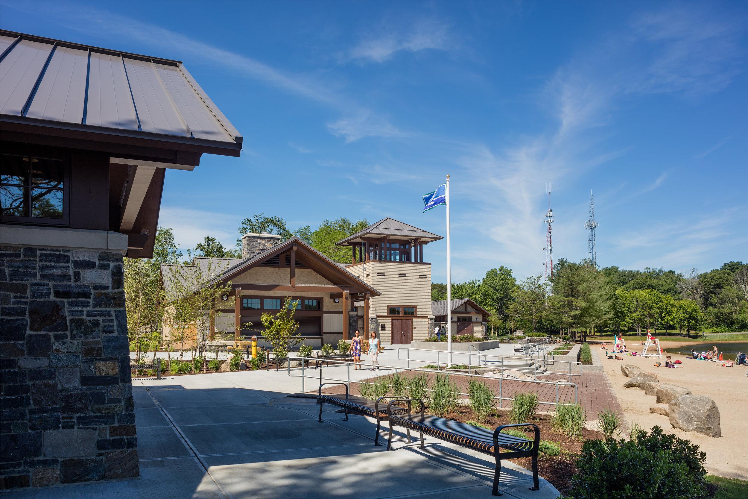 Lincoln Woods State Park Beach Pavilion Complex