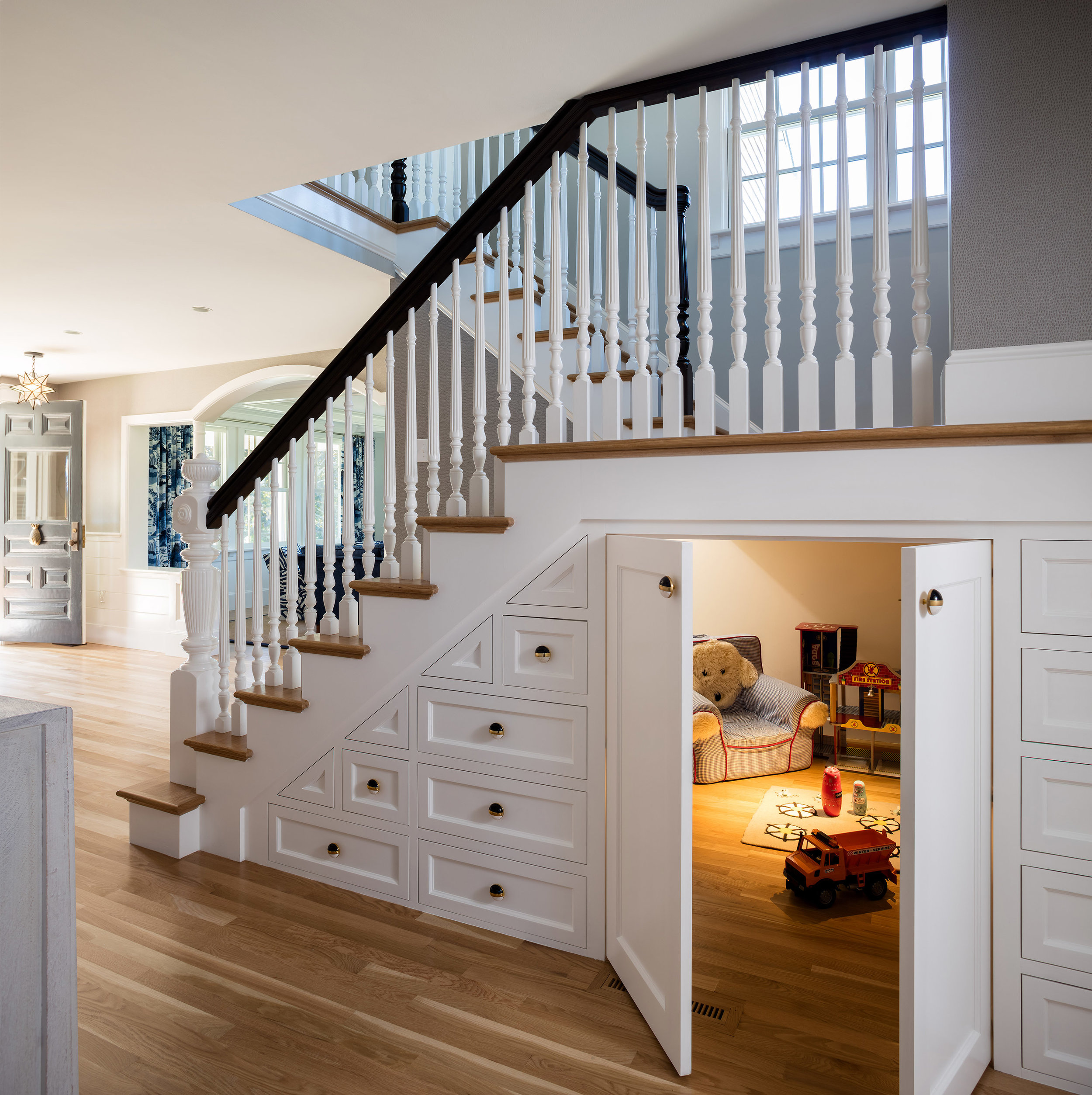 Stairwell/Play Room