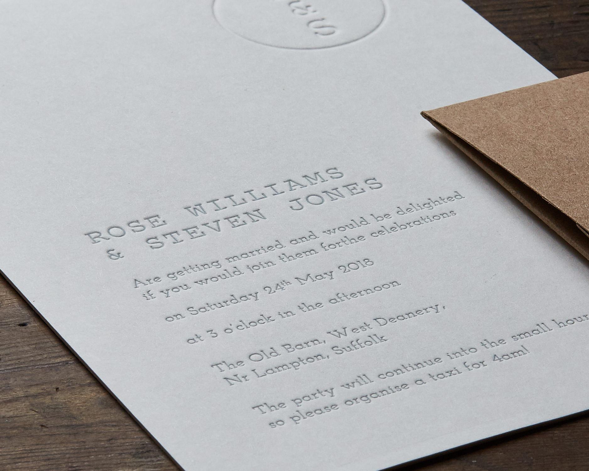 Invitation Detail