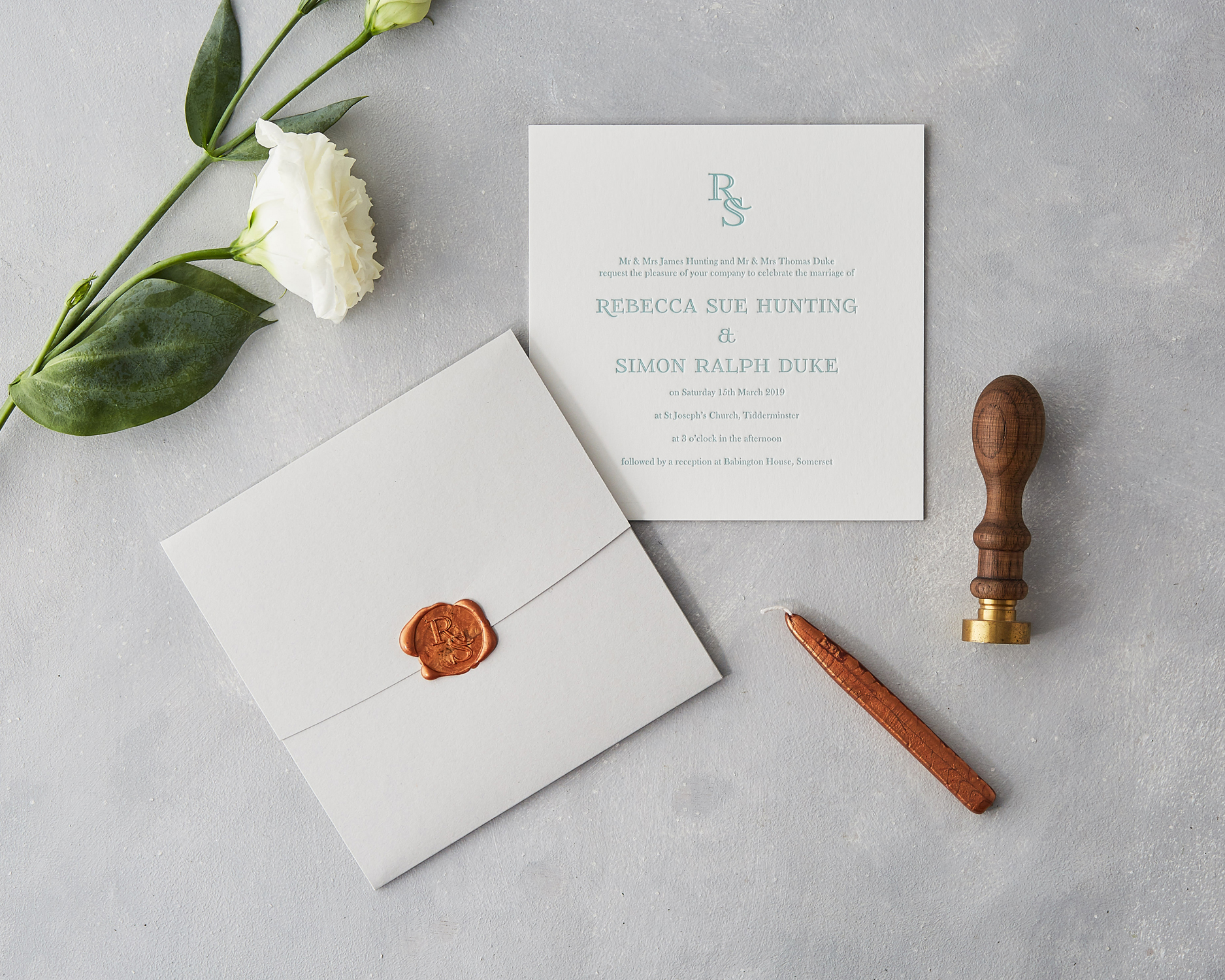 Wax Seal Invitation Set