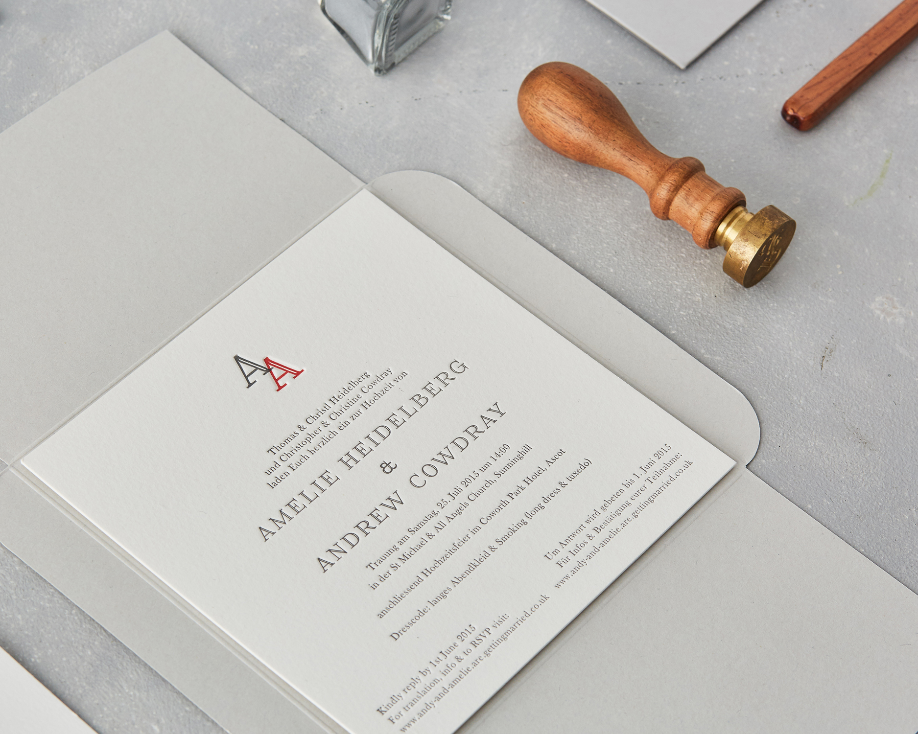 Wax Seal Invitation