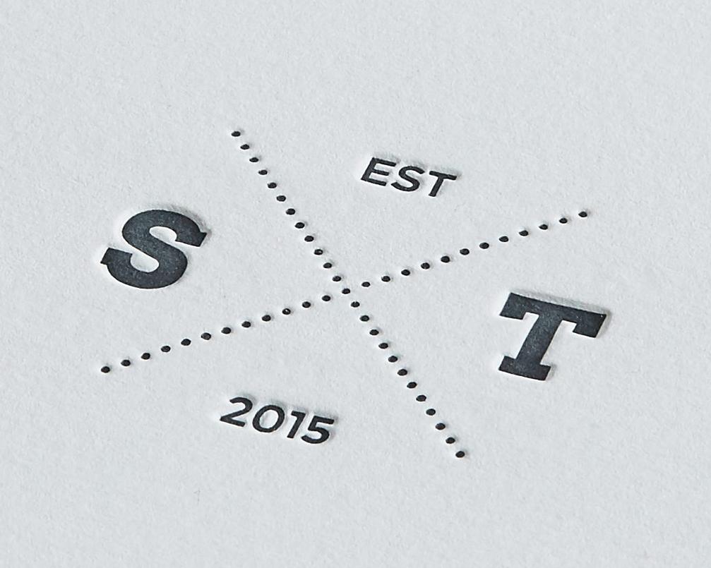 Letterpress Emblem