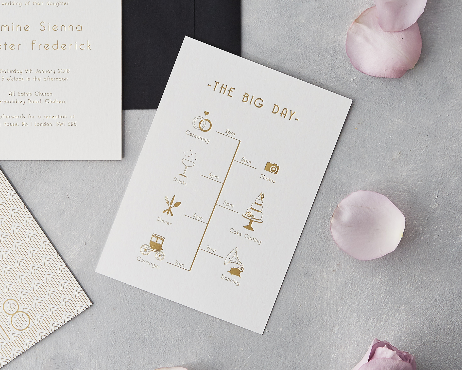 Bespoke Wedding Timelines