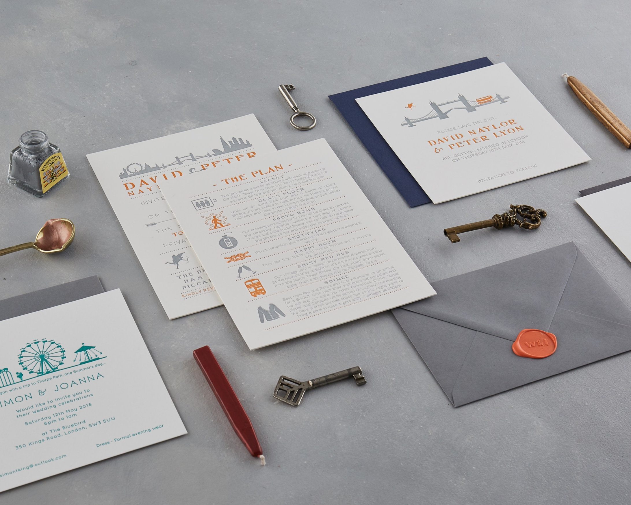 Bespoke Wedding and Event Stationery