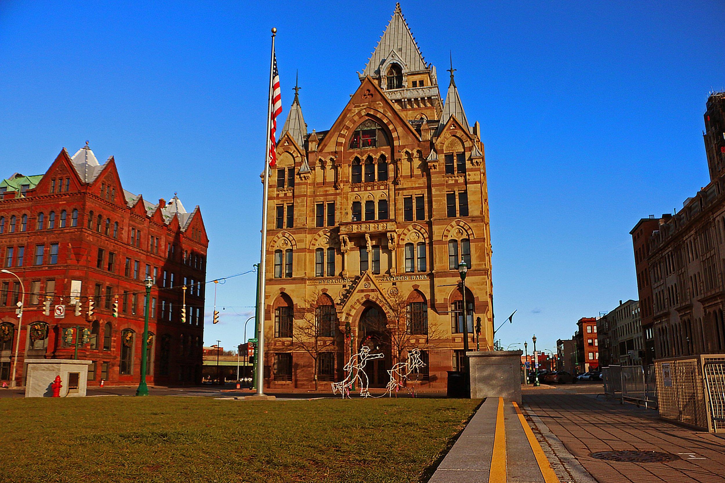 Downtown Syracuse, NY -- Clinton Square
