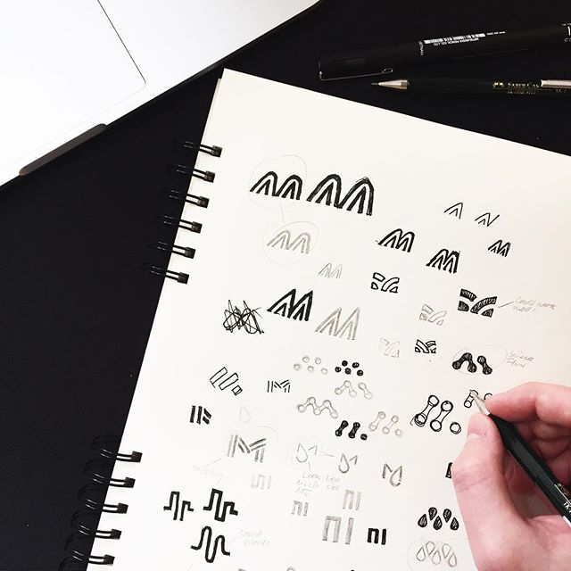 Exploring letter M concepts✍🏼 Check out the final few concepts on my previous post✌🏼