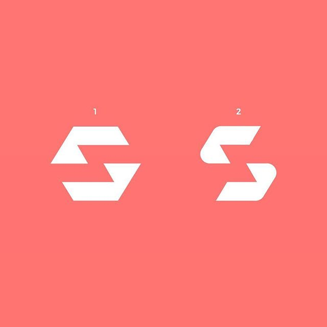 """Which one do you prefer?🤔Some """"S"""" lettermark exploration for a project. I will be posting a grid for whichever one gets the most votes✌🏼"""