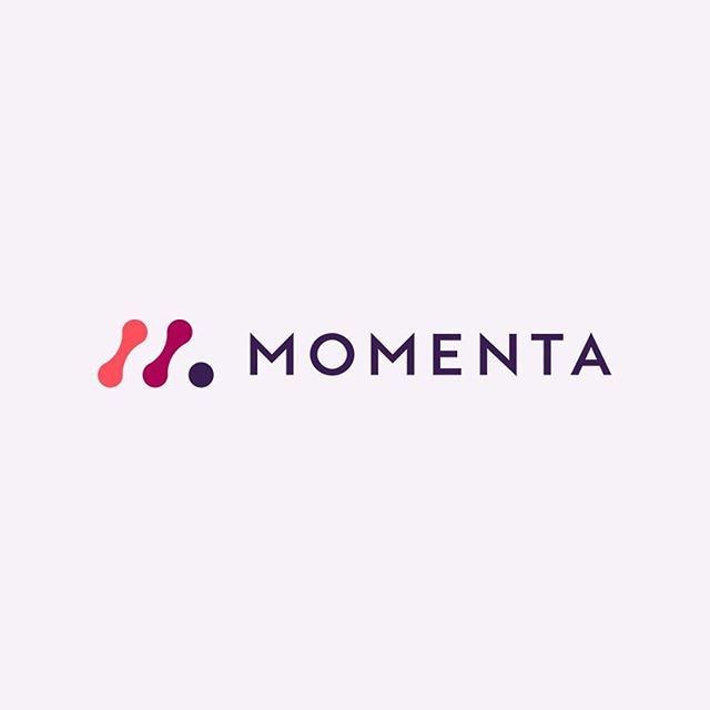 Back on that weekday grind!🙌🏼 - Momenta logo design. What do you guys think?