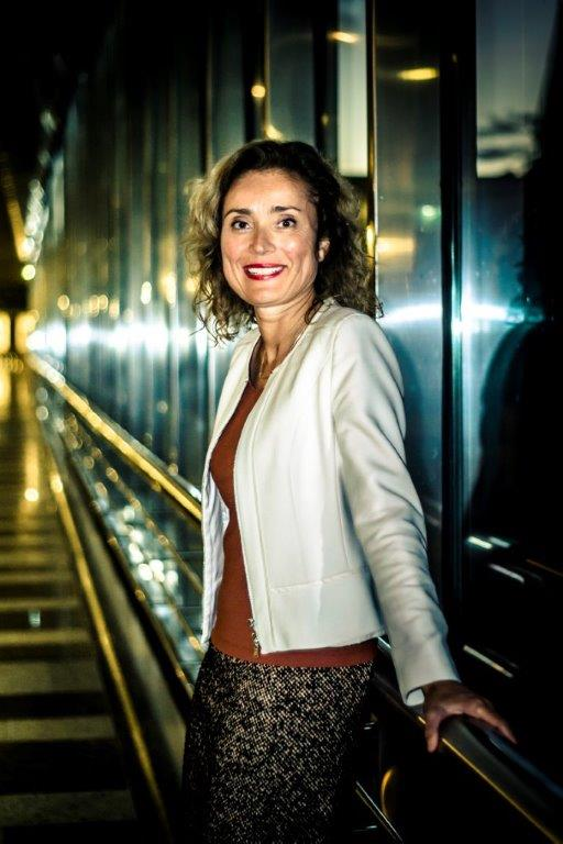 D66 MP Vera Bergkamp, who originally introduced the initiative bill to legalise the cannabis supply chain.