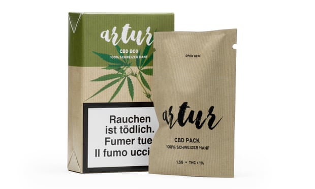 In Switzerland, CBD flower and cigarettes are sold in supermarkets like Lidl. Photograph: Lidl Schweiz