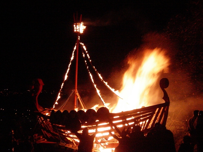 The Viking way of renaming a boat