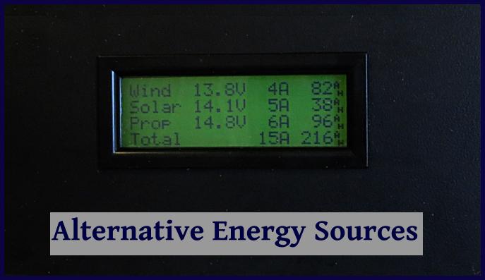 shaft generator monitor