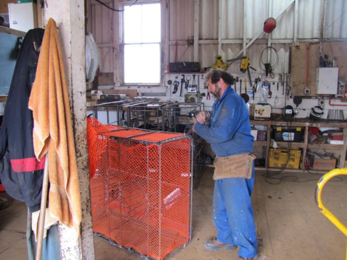John the crayfish pot maker