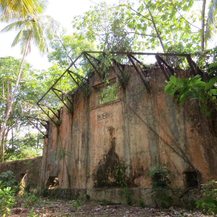 Prison ruins