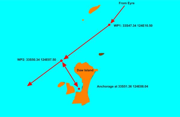 Daw island chartlet