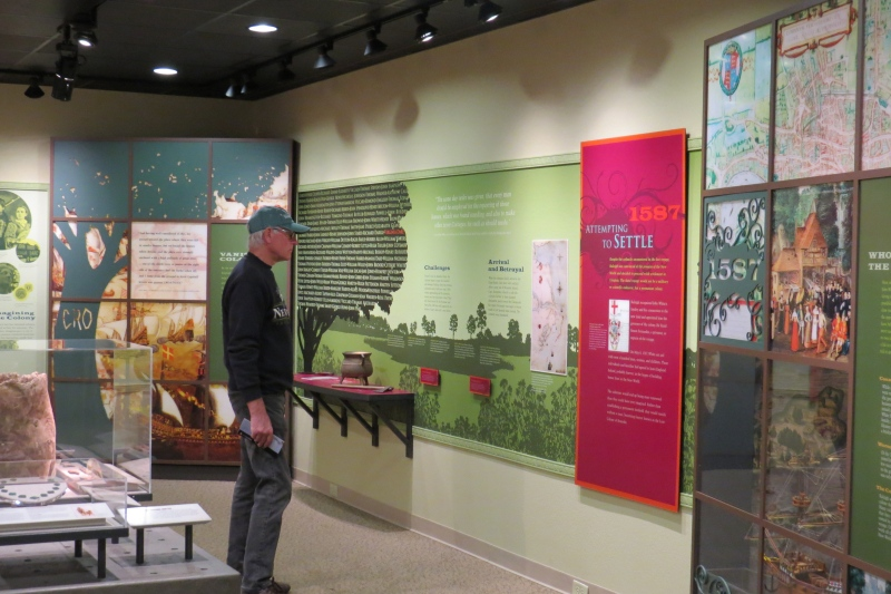 Fort Raleigh National Historic Site Visitor Center Museum