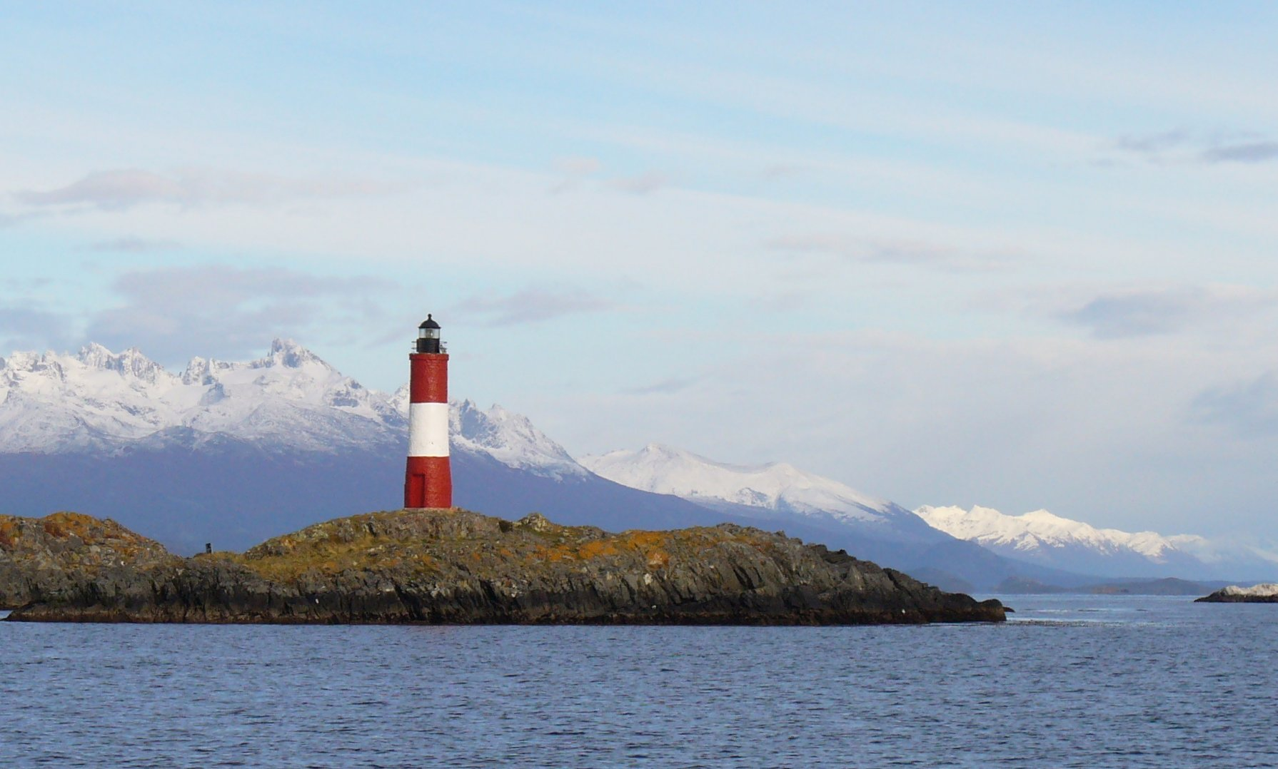 My All-time Favorite - Faro Les Eclaireurs - Tierra Del Fuego at the bottom of the world