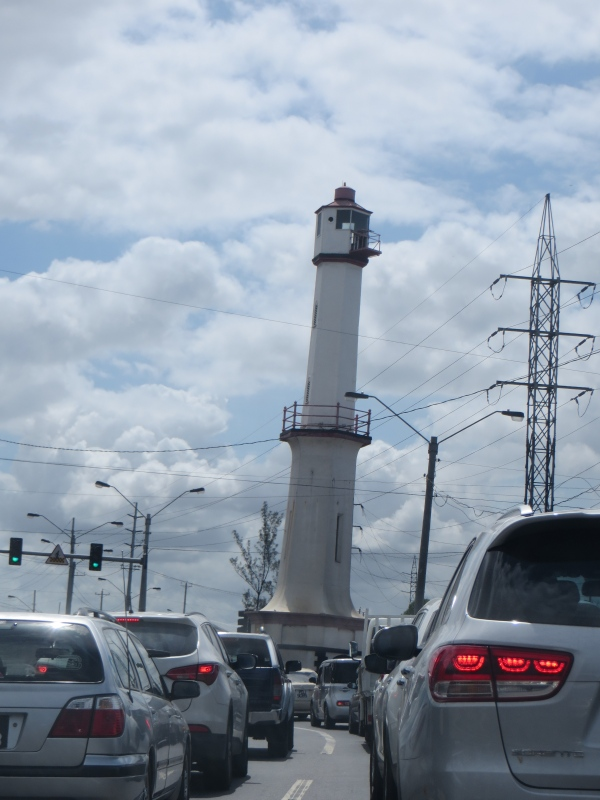 "Port of Spain ""leaning"" Light-Trinidad"