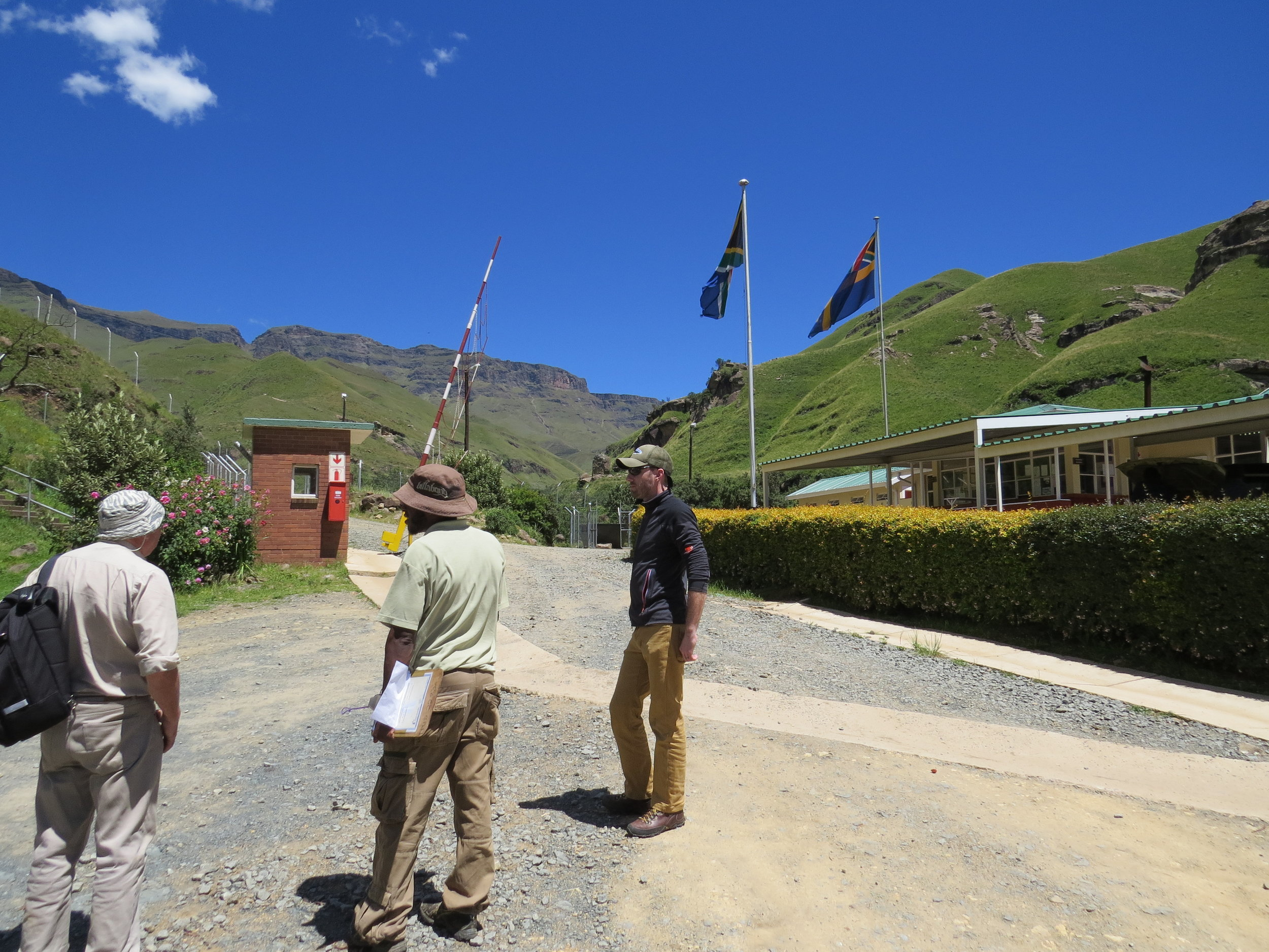 South African Border Post