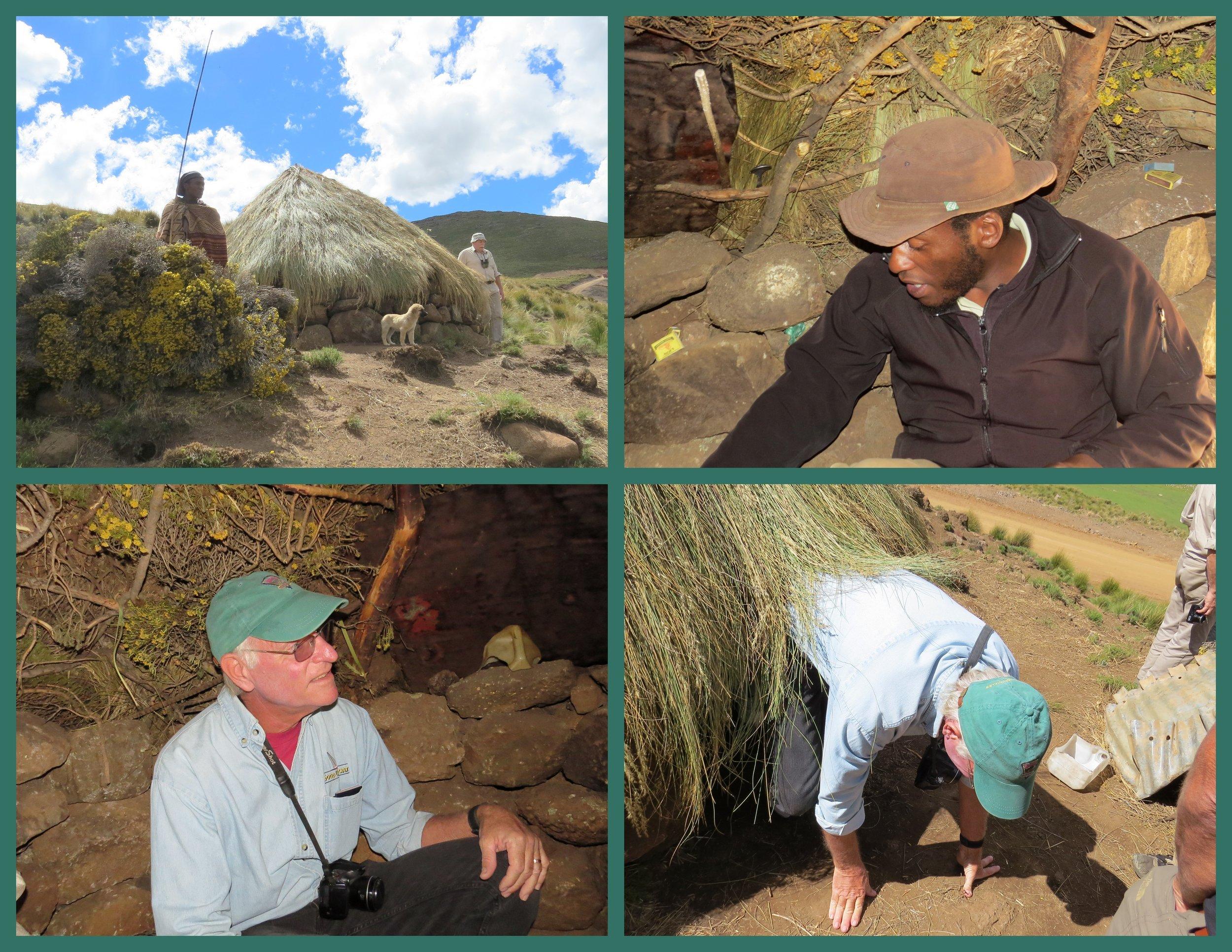 Visiting a shepherd's hut