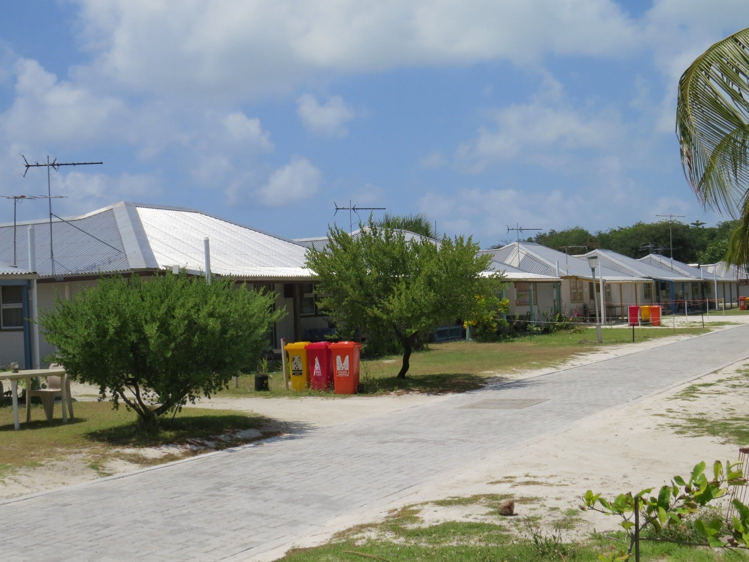 Typical Cocos Keeling houses