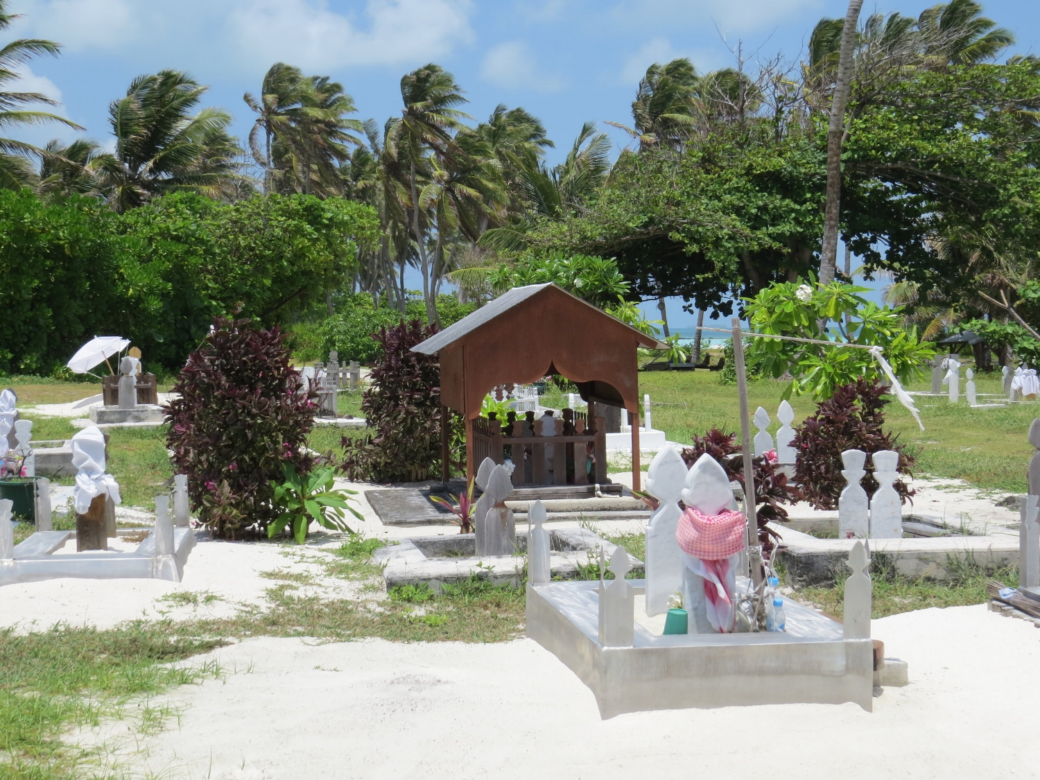 Cocos Malay graves