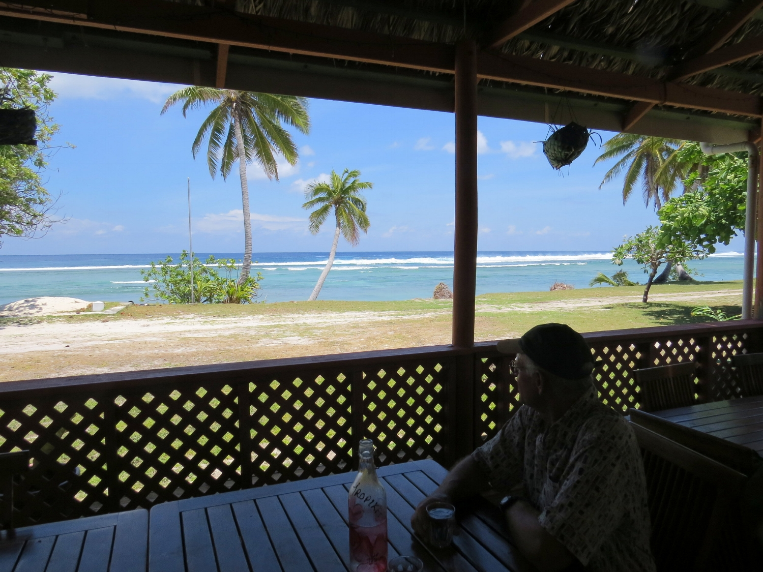 Lunch at the Tropika restaurant