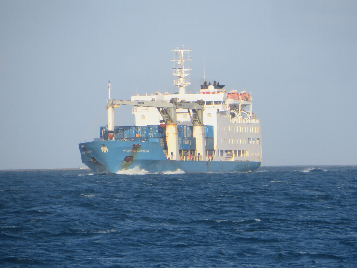 Large supply ships need room to maneuver.