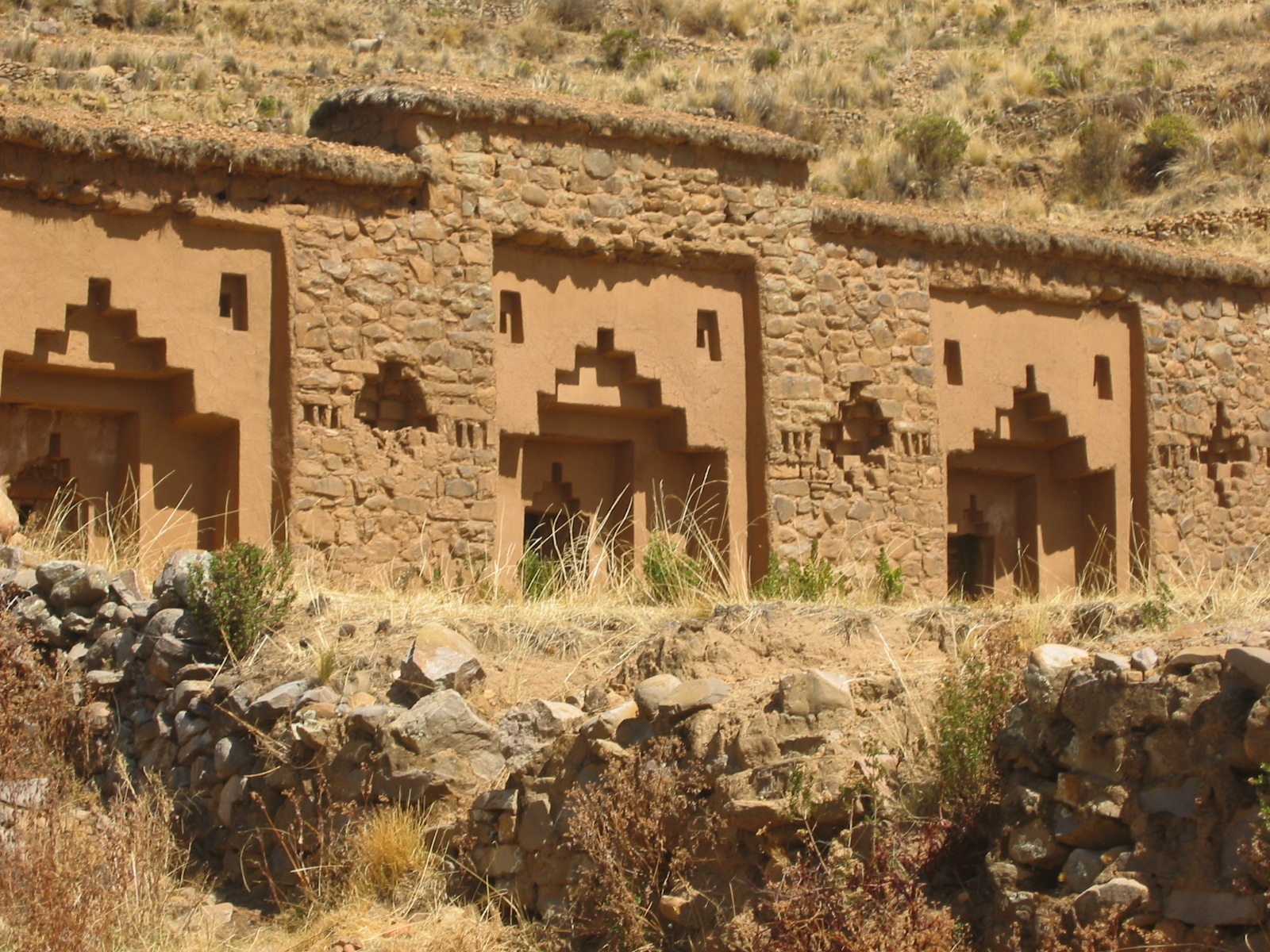 Convent ruins at Isla de la Luna.