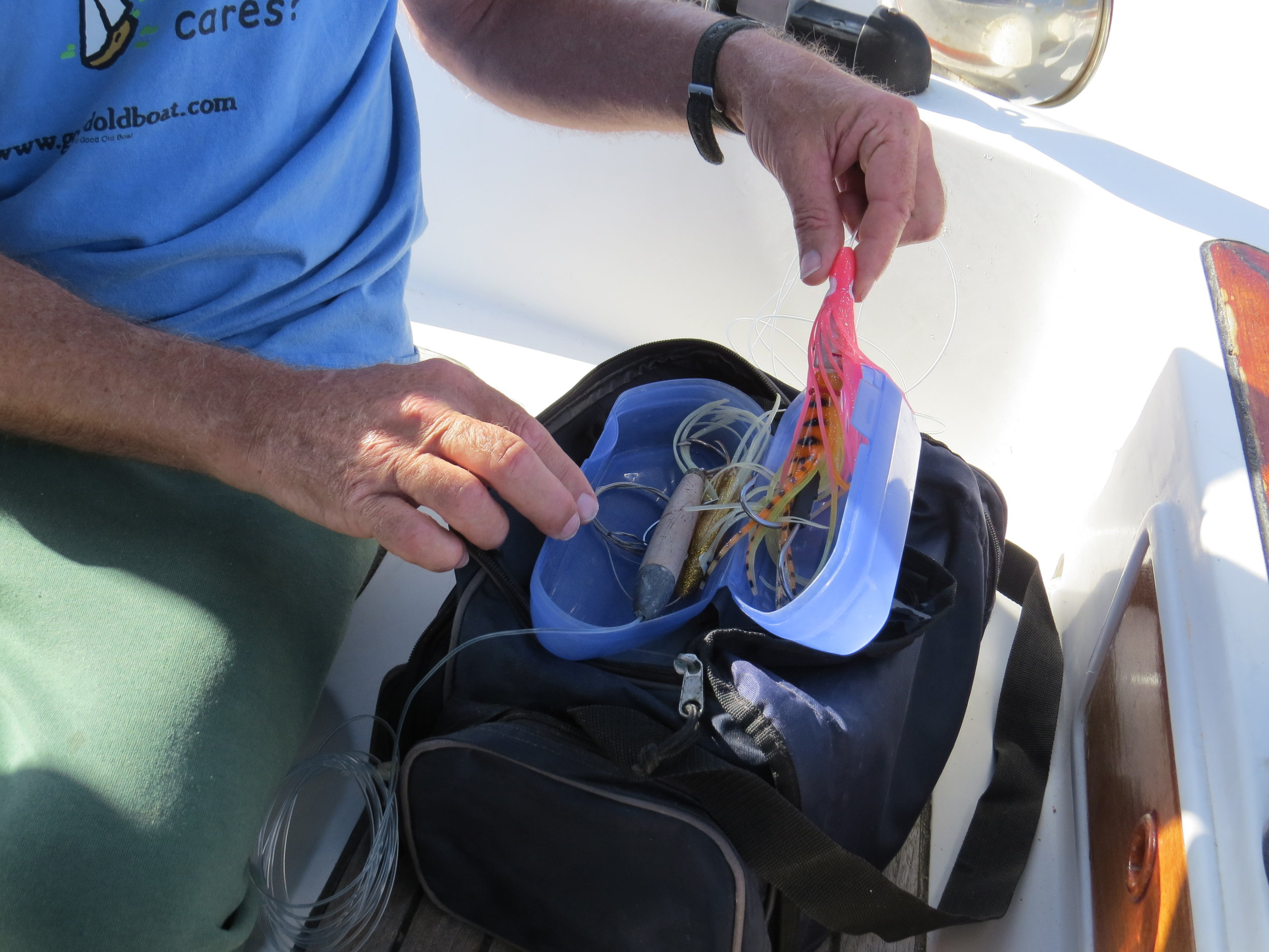 A soft-sided bag is easy-to-stow and convenient for all your hooks, lures and accessories.