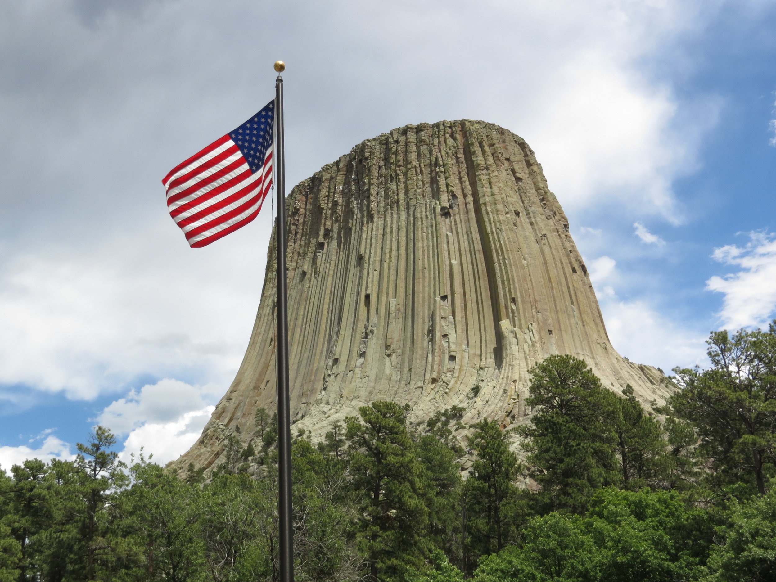 Devil's tower national monument  - wyoming, 2012 (remember .... close encounters of the third kind?)