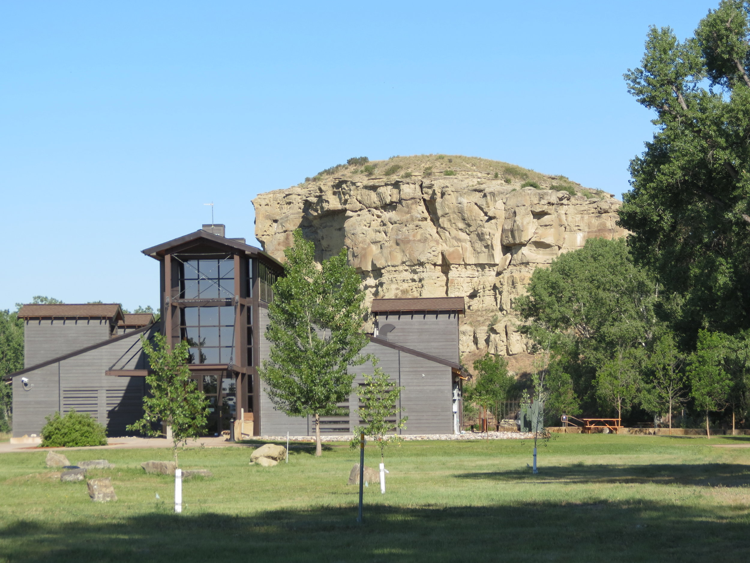 Pompey's Pillar National Monument  -on the Lewis & Clark expedition ItineraryMontana - 2012