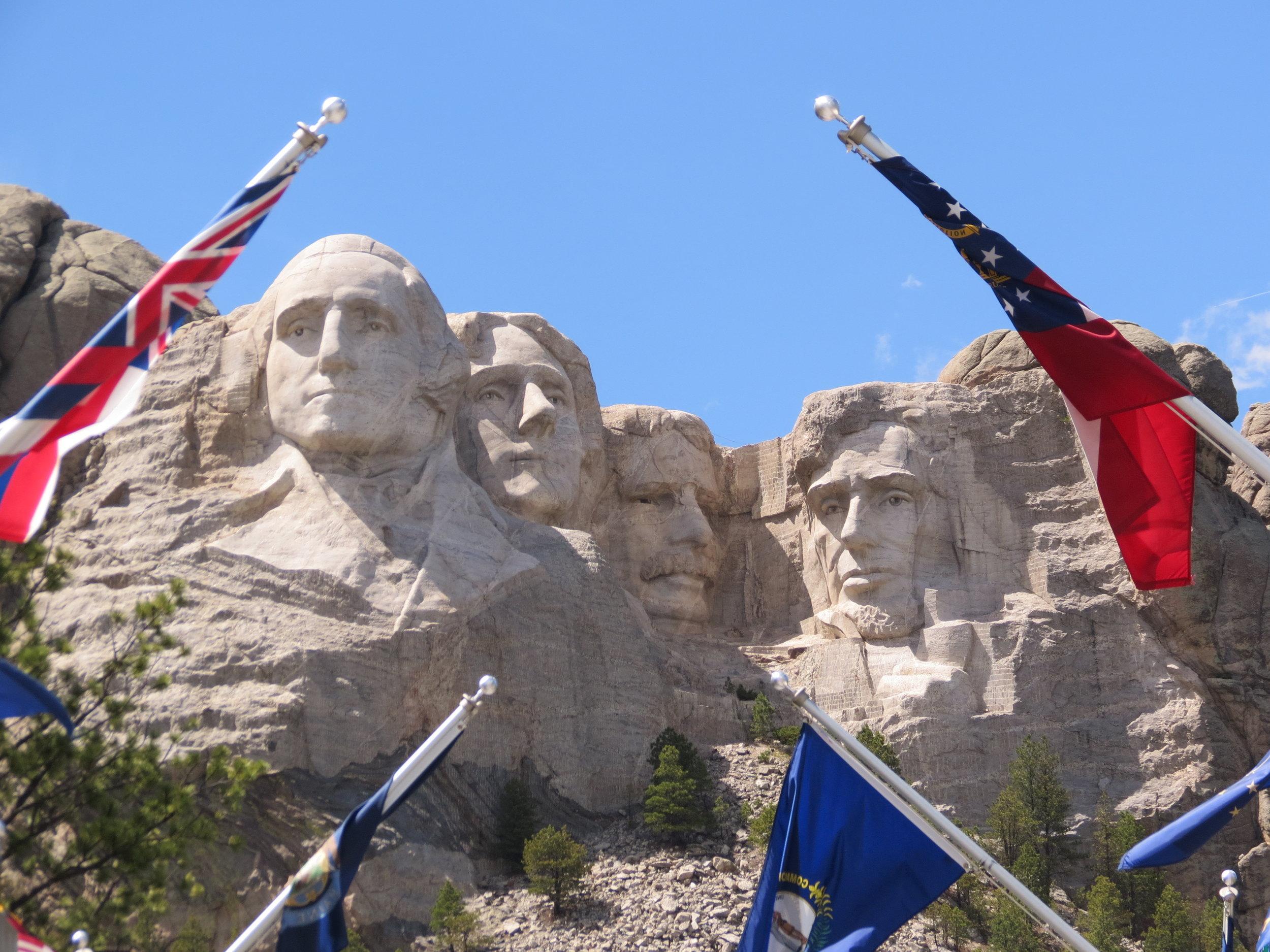 mount rushmore national memorial  - south dakota - 2012