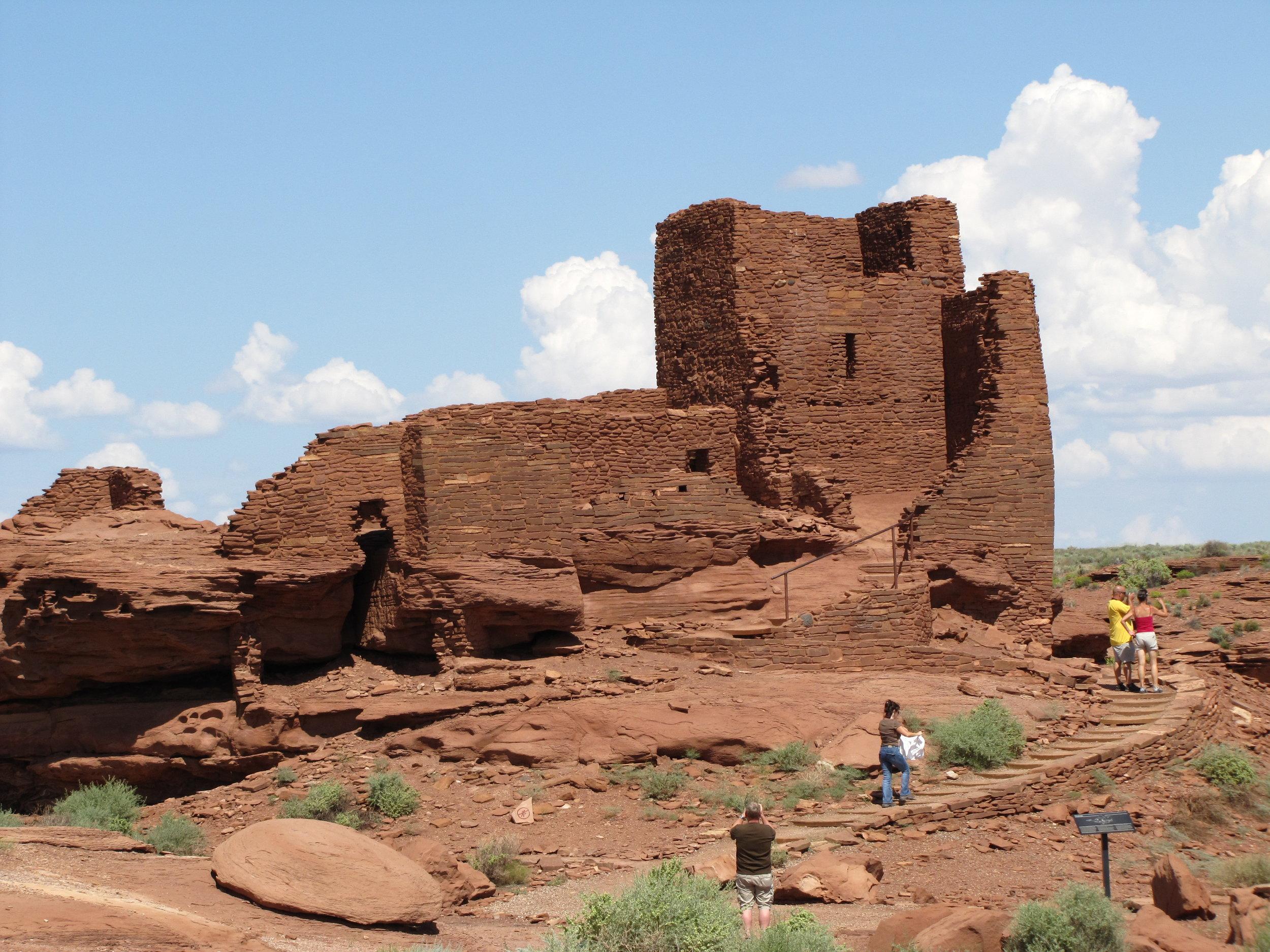 Wupatki national monument  - arizona - 2010