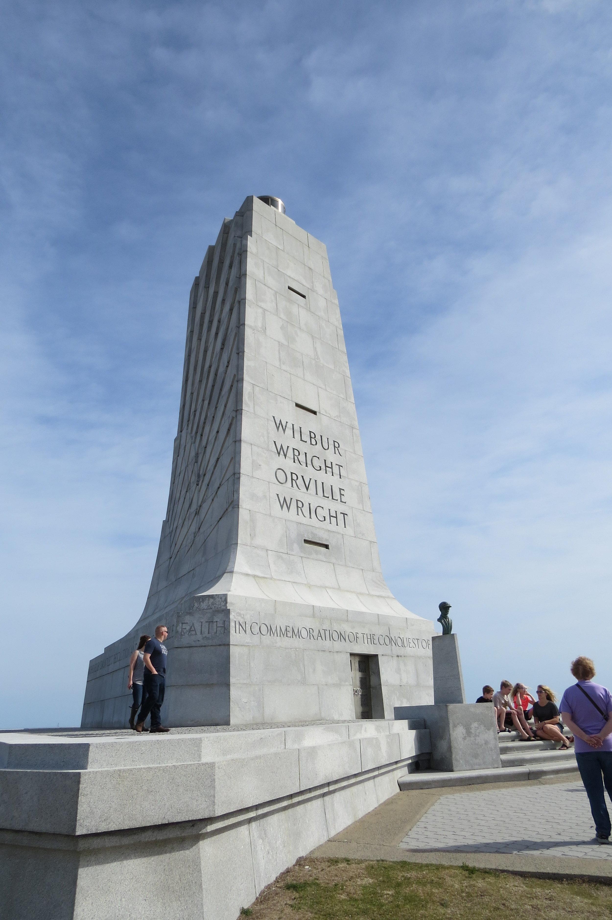 Wright Brothers National Memorial   - Kitty hawk, north carolina - 2017