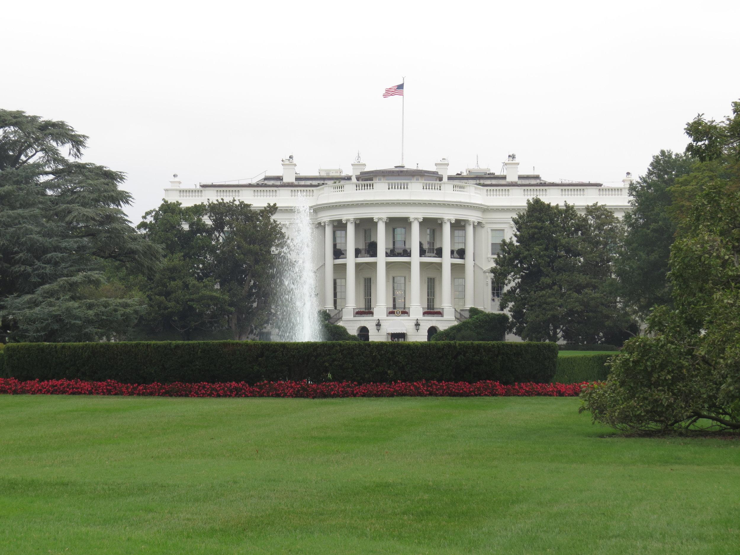 President's Park - The White House
