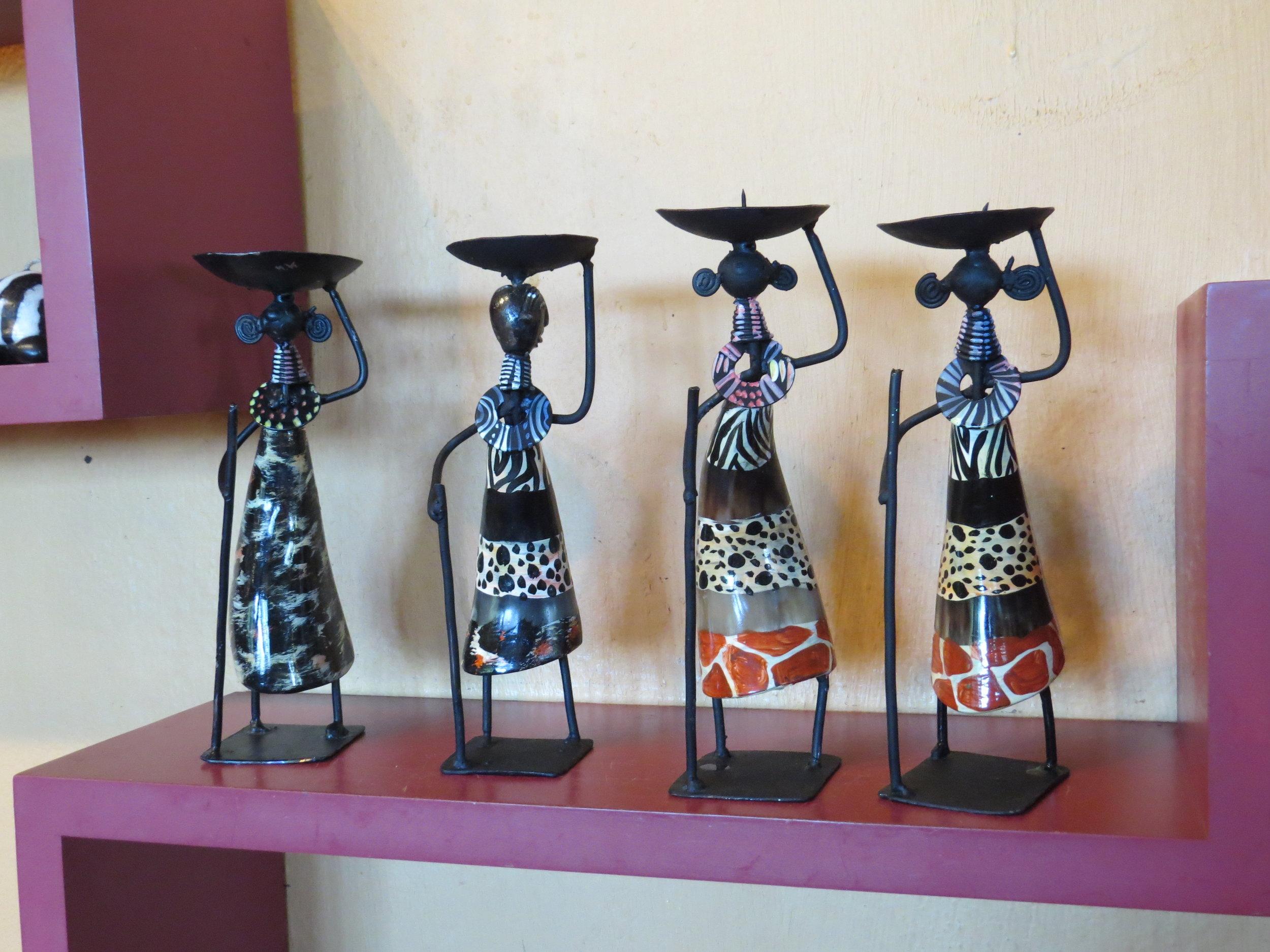 Stylized African art