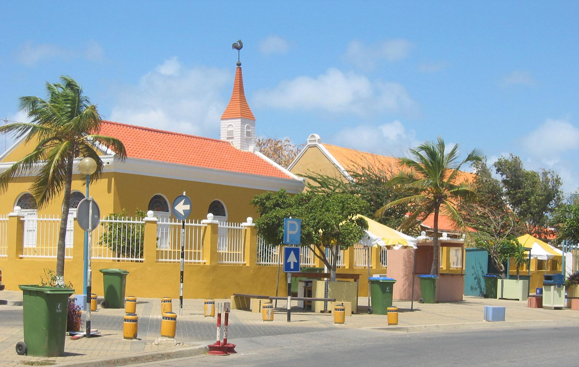View of Kralendijk, Bonaire