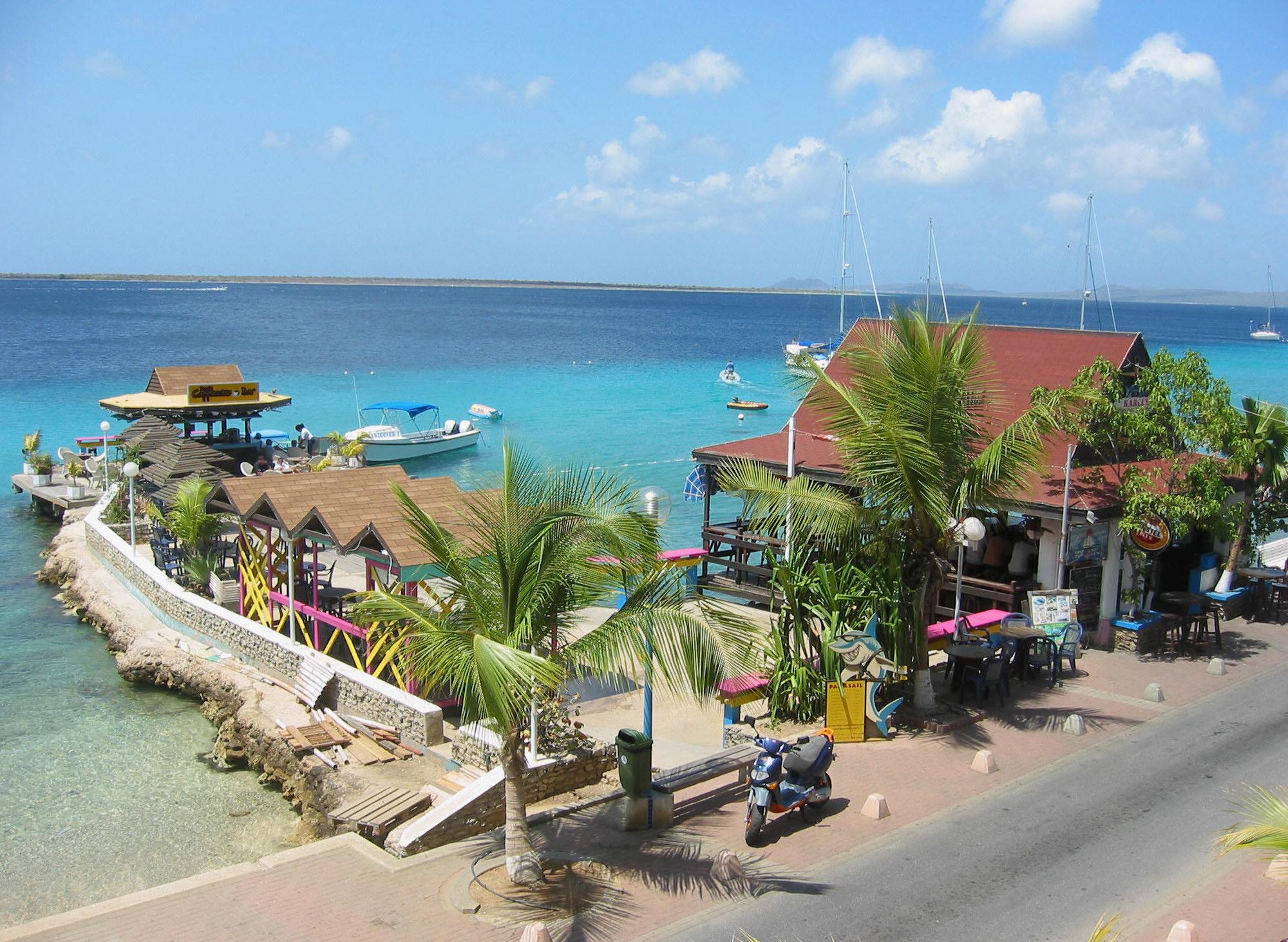 Karel's Beach Bar was a popular hangout