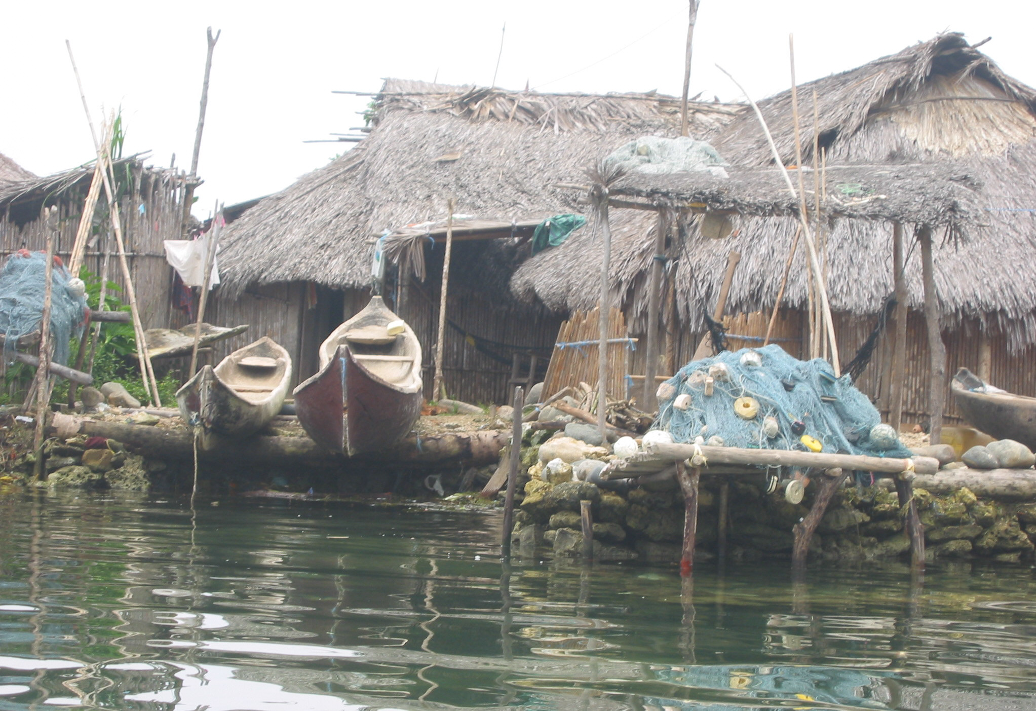 We sailed from village to village