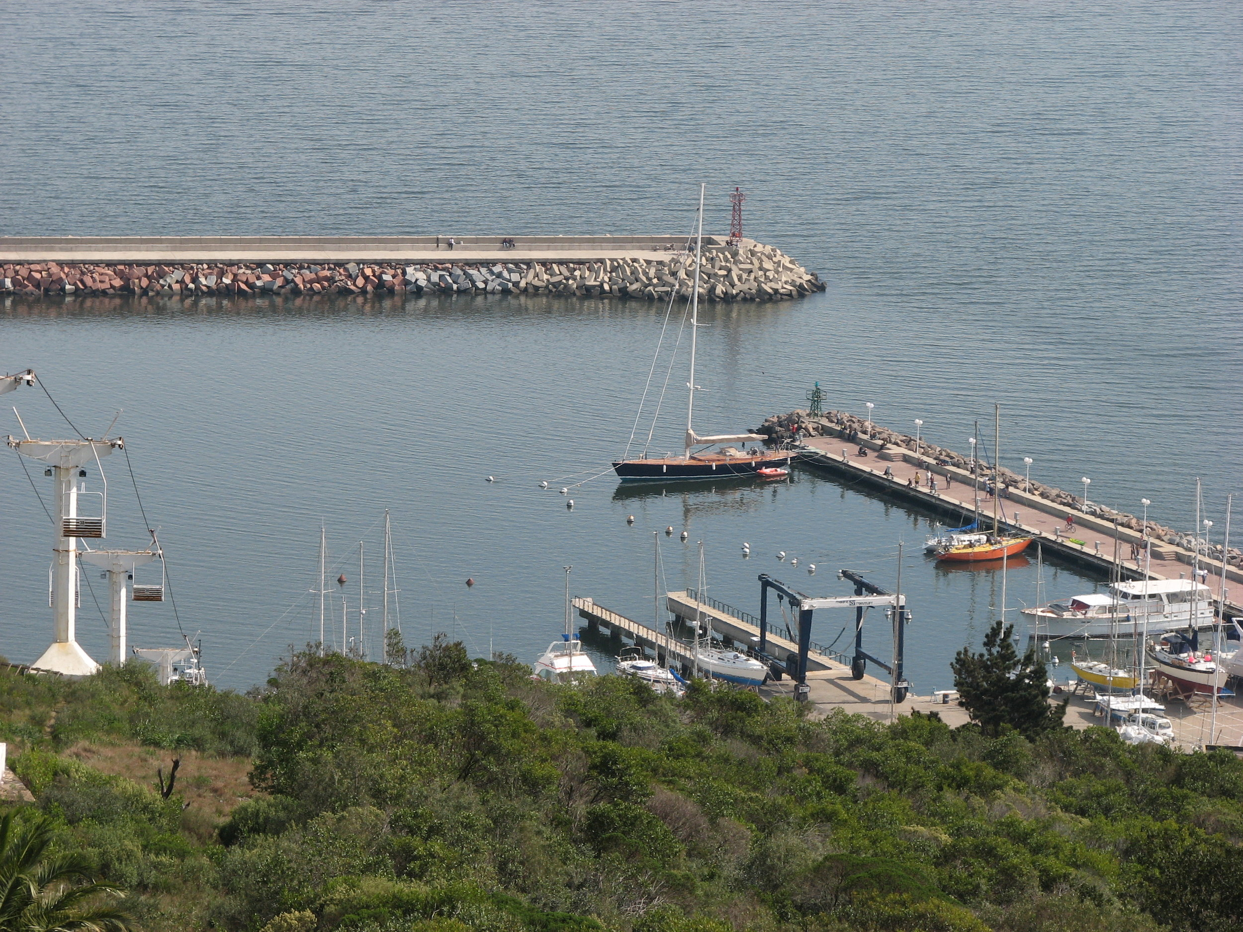 The marina in Piriapolis, Uruguay was just perfect for a pair of weary sailors!