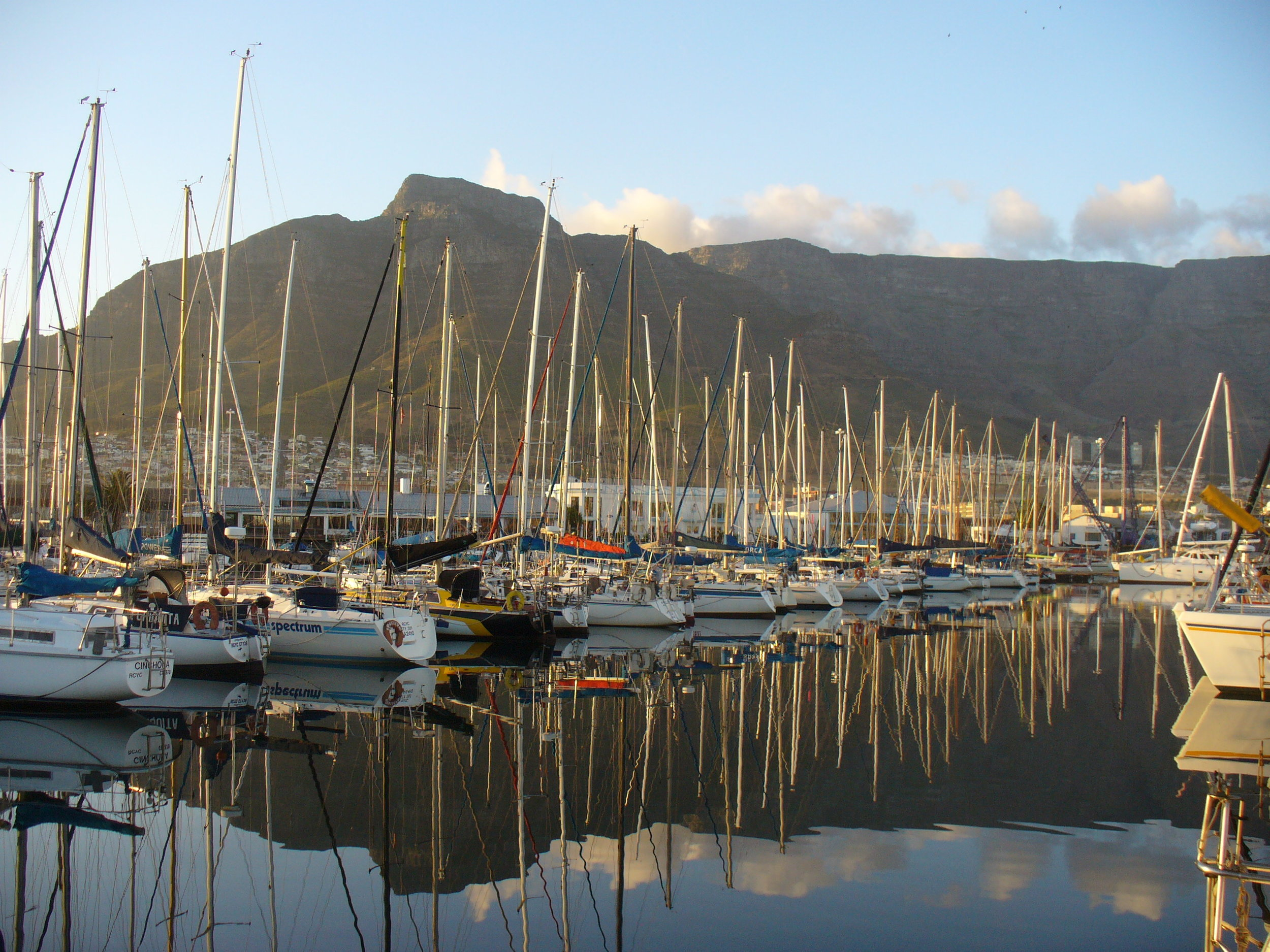 In the shadow of Table Mountain, Cape Town, South Africa