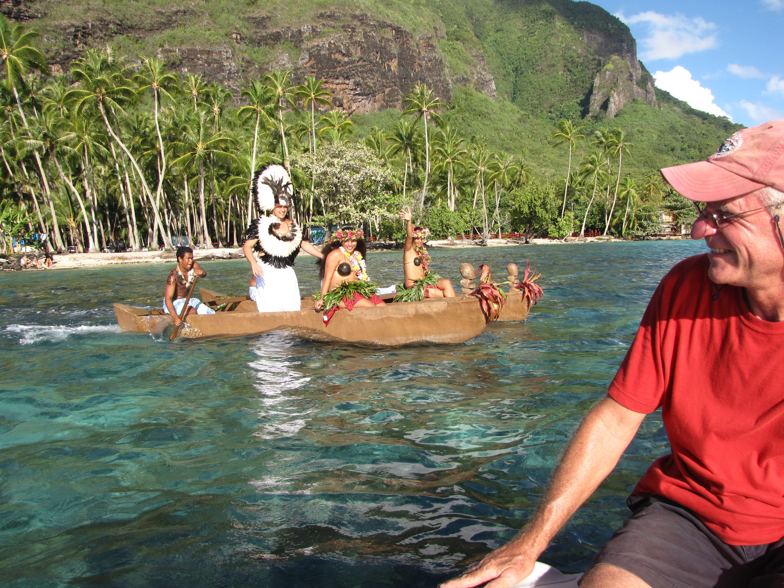 A royal welcome to Moorea